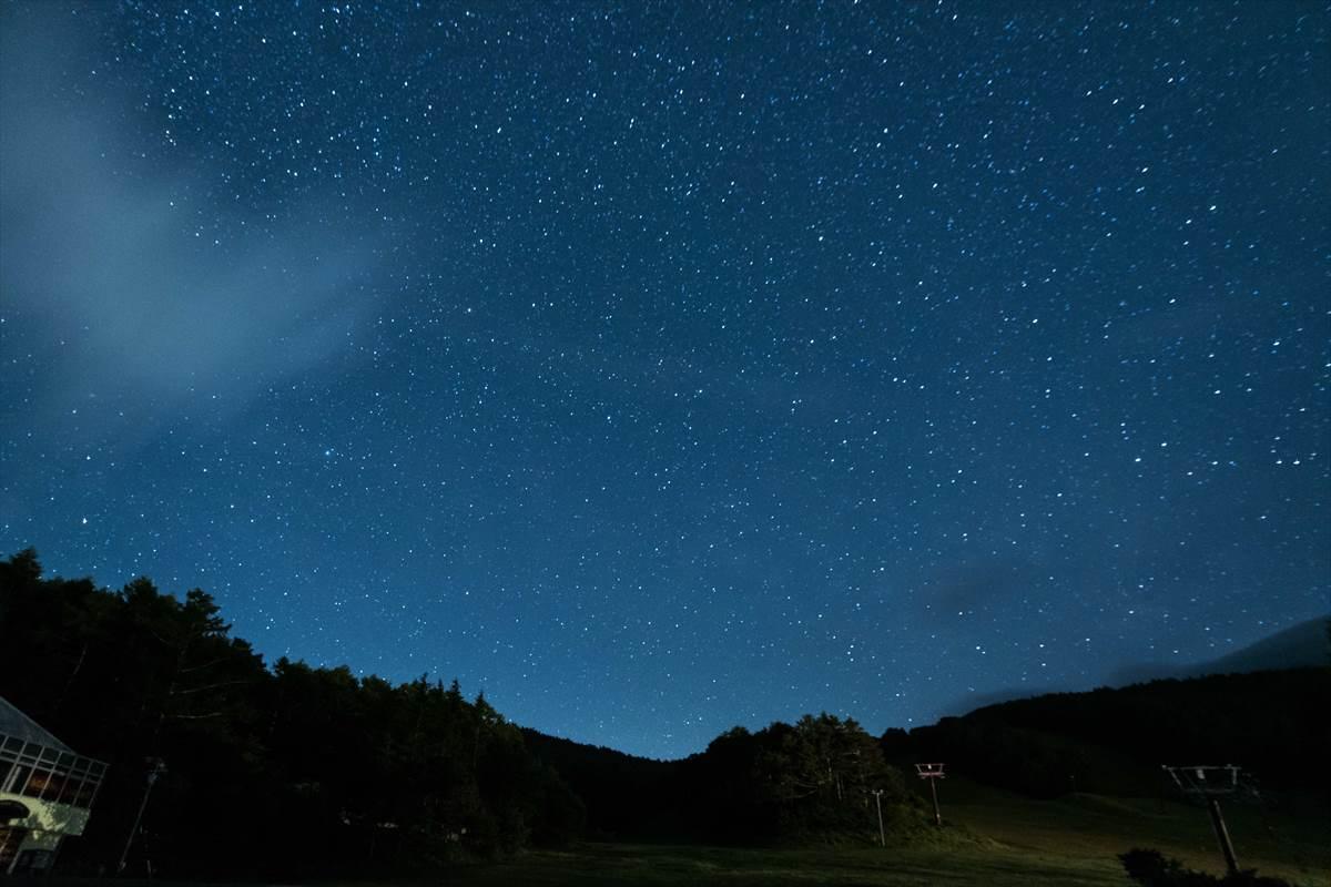 f値3.5の星空写真