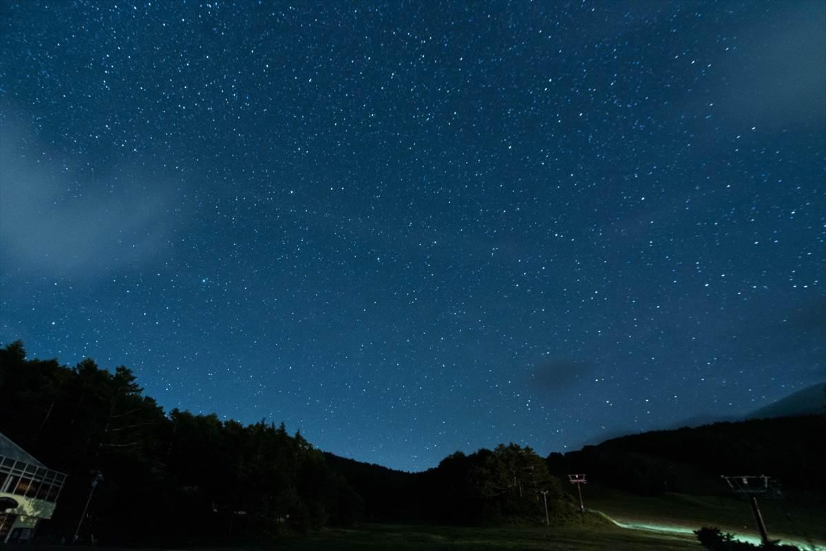 f値4.0の星空画像