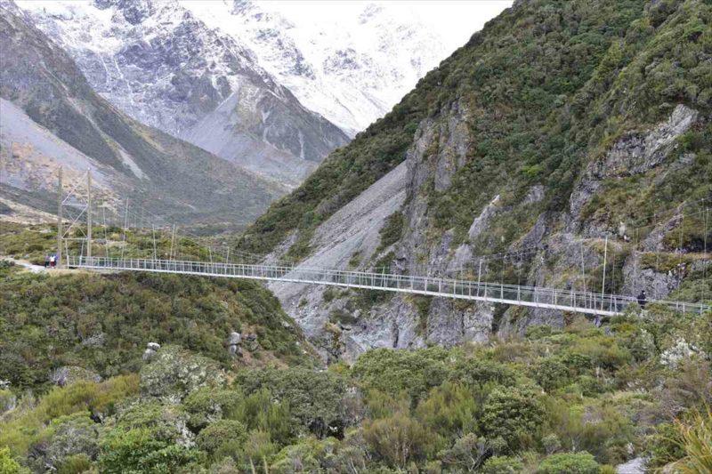 二番目の吊り橋の風景