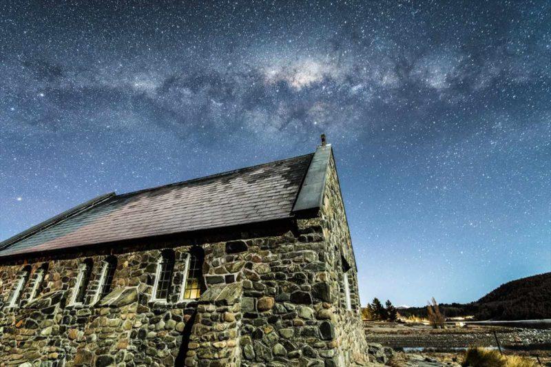 深夜3時に再び訪れた善き羊飼いの教会