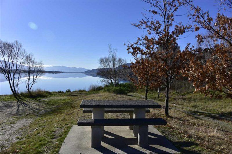 Dunstan湖の風景