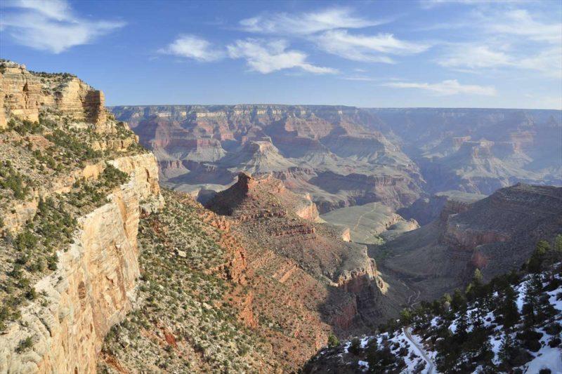 アメリカの国立公園の代表的なグランド・キャニオン国立公園