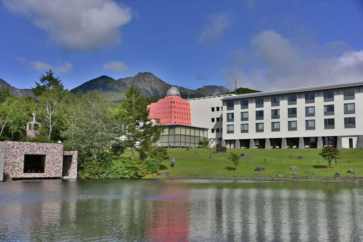 清里高原ホテルの外観風景